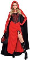 Sexy roodkapje - robin hood - Amscan International Adults Riding Hood Enchantress Costume