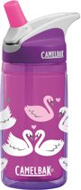CamelBak Eddy Kids insulated-Drinkfles-400 ml-Paars (Purple Swans)