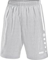 Jako Turin Voetbalshort - Shorts  - zilver - XL