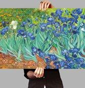Poster De Irissen - Vincent van Gogh