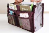Bag in Bag - Tasorganizer - Wijnrood - Nooit meer chaos in je tas