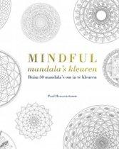 Mindful mandala's kleuren