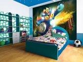 Fotobehang Papier Disney, Big Hero 6 | Geel | 254x184cm