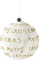 Riviera Maison - Merry Christmas Ornament - gold - Dia 12 - Kerstbal