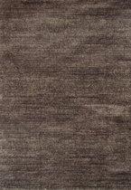Vloerkleed Hoogpolig Shaggy Soft Gemêleerd Bruin - 80 x 150 cm