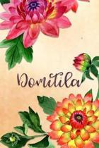 Domitila: Personalized Journal for Her (Su Diario)