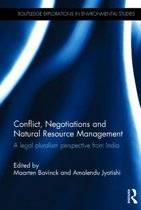 Conflict, Negotiations and Natural Resource Management