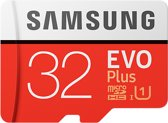 Samsung Evo plus Micro SD 32GB - met adapter
