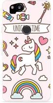 Pixel 2 Hoesje Unicorn Time