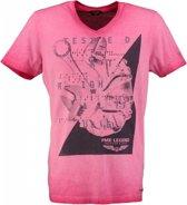 Pme legend roze t-shirt slim fit - Maat M