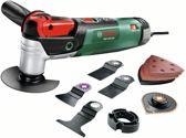 Bosch PMF 250 CES Multitool Oscillerend 250 Watt Inclusief uitgebreide accessoireset extra handgreep en koffer