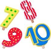 Goki Houten verjaardagscijfers 7 t/m 10