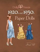Dollys and Friends 1920s and 1930s Paper Dolls