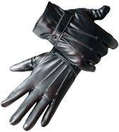 Lederen Touchscreen Handschoenen - Heren S/M/L/XL Touch Tip Gloves Voor Telefoon / Smartphone