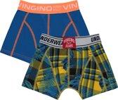 Vingino Jongens Boxer - Capri Blue - Maat 158-164