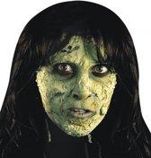 Halloween Tube met groen horror vlees