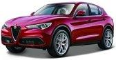 Modelauto Alfa Romeo Stelvio rood 1:24 - Speelgoed auto schaalmodel