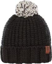 The North Face Cozy Chunky Beanie Dames Muts - Tnf Black/Tnf Black Multi - OS