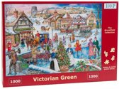 House of Puzzels Victorian Green
