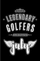 Legendary Golfers are born in July