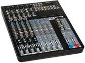 Mengpaneel Live-Mixer 12-kanaals incl. Dynamiek GIG-124C DAP