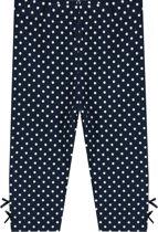 Ducky Beau Legging Dots - Donkerblauw - Maat 74