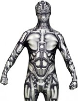 Morphsuits™ The Android Morphsuit - SecondSkin - Verkleedkleding - 164/176 cm