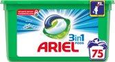 Ariel 3in1 Pods Alpine - Voordeelverpakking 3 x 25 Wasbeurten - Wasmiddelcapsules