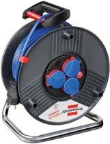 Brennenstuhl 50m AT-N05V3V3-F 3G1,5 3AC outlet(s) 50m Multi kleuren power uitbreiding