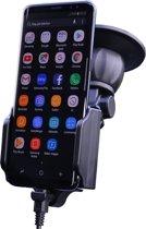 Kram Fix2Car Actieve Houder met 2.1A USB-C Autolader - 58-95mm