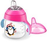 Philips Avent SCF747/03 Drinkbeker met drinktuit - Roze Pinguin 260 ml