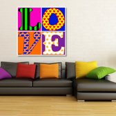 Love Canvas Art 80/80cm