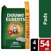 Douwe Egberts Mild koffiepads - voor in je SENSEO® machine  - 4 x 54 pads