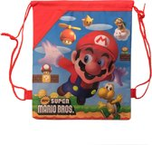 New Super Mario Bros. Gymtas / Rugzak (rood)