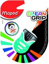 Clean Grip potloodslijper 1-gaats - blauwgroen