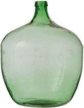 Groene Glazen Vaas.Grote Groene Glazen Vaas Gpe55 Tlyp