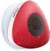Avanca Bluetooth Waterdichte Wireless Speaker - Douche Speaker - Waterproof - Rood