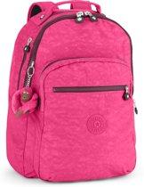 Kipling Clas Seoul - Laptop Rugzak - Pink Berry C
