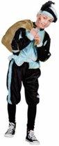 Pieten kostuum kinderen lichtblauw (4-6 jaar) - Carnavalskleding
