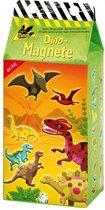 Houten magneten Dino Dinosaurus set 20 stuks