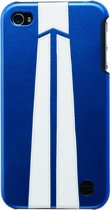 Trexta Snap On Cover (Autobahn Series) iPhone 4 (White On Blue)