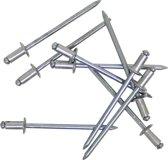 Gesipa Blindklinknagels met Alluminium Cilinderkop Minipack - Middel - 4 mm