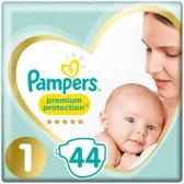 Pampers Premium Protection Luiers - Maat 1 - 2 tot 5 kg - 44 stuks