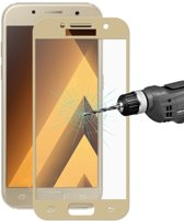 Full Cover Tempered Glass Samsung A3 (2017) - Goud