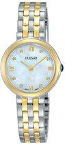 Pulsar PM2244X1 horloge dames - zilver en goud - edelstaal