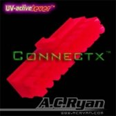 AC Ryan Connectx™ ATX20pin Female - UVRed 100x Rood