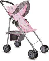 Baby Rose Poppenwagen met Zonnescherm