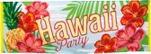Hawaii party banner 220cm×74cm vlag