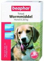Beaphar wormTabletten middel middelgrote rassen - 1 st