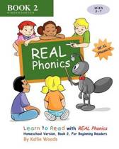 Learn to Read with Real Phonics, Book 2, Homeschool Version
